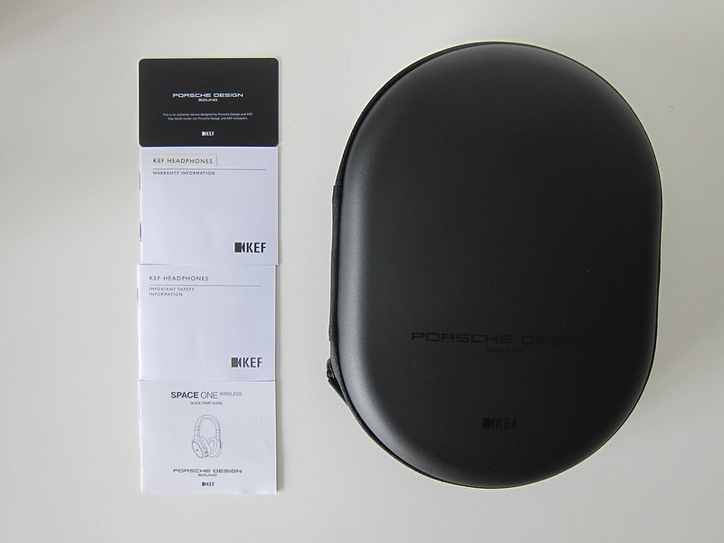 KEF - Space One Wireless Headphones - Box Contents