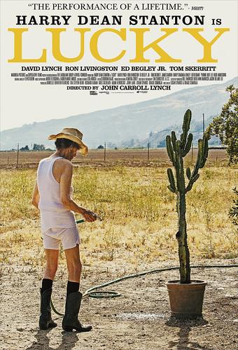 映画『ラッキー』海外版ポスター
