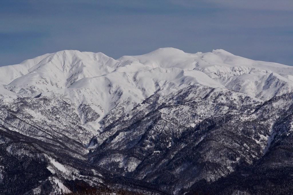 西山からの白山連峰 その3 キング&モンスター編