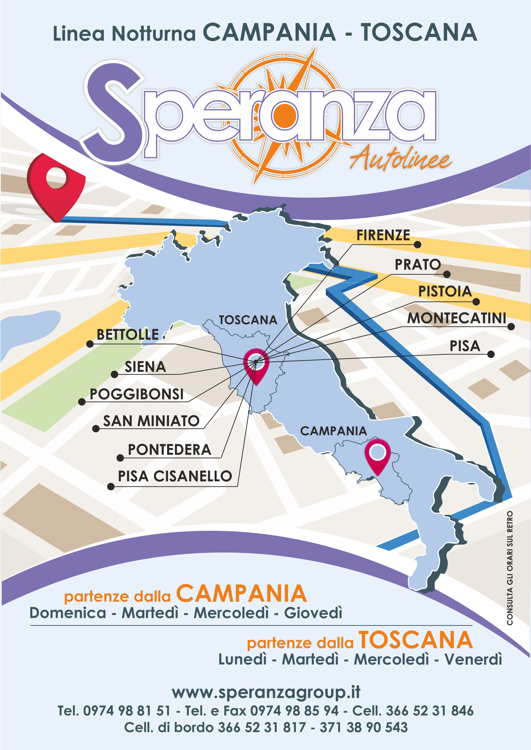 Linea Campania Toscana Speranza