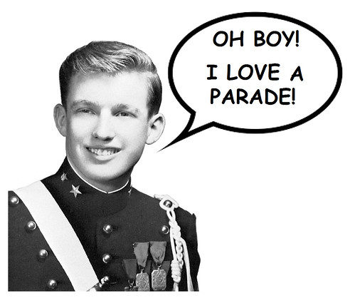 Pentagon May Solicit Funds For Trump's Military Parade