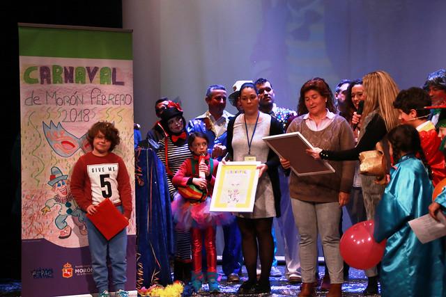 concurso escolar Carnaval y I Pregón Juvenil