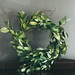 Small photo of Bay Leaf Wreath Hanging (1 of 1)EDITED