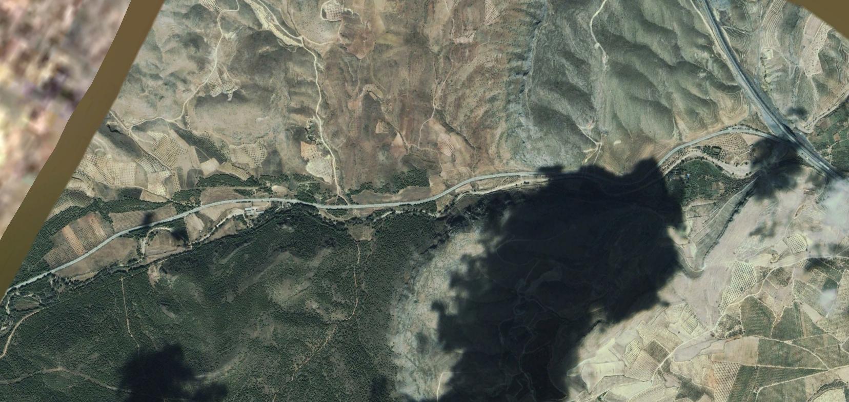 presa de mularroya, zaragoza, sismos monroe, antes, urbanismo, planeamiento, urbano, desastre, urbanístico, construcción