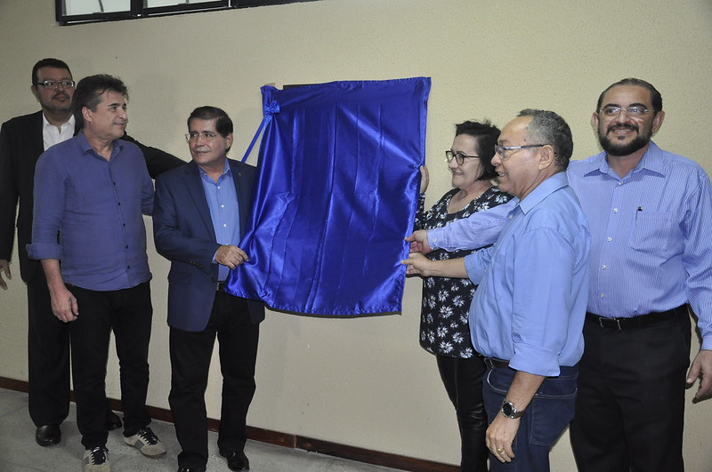 Inauguração do terceiro bloco didático do campus Canindé