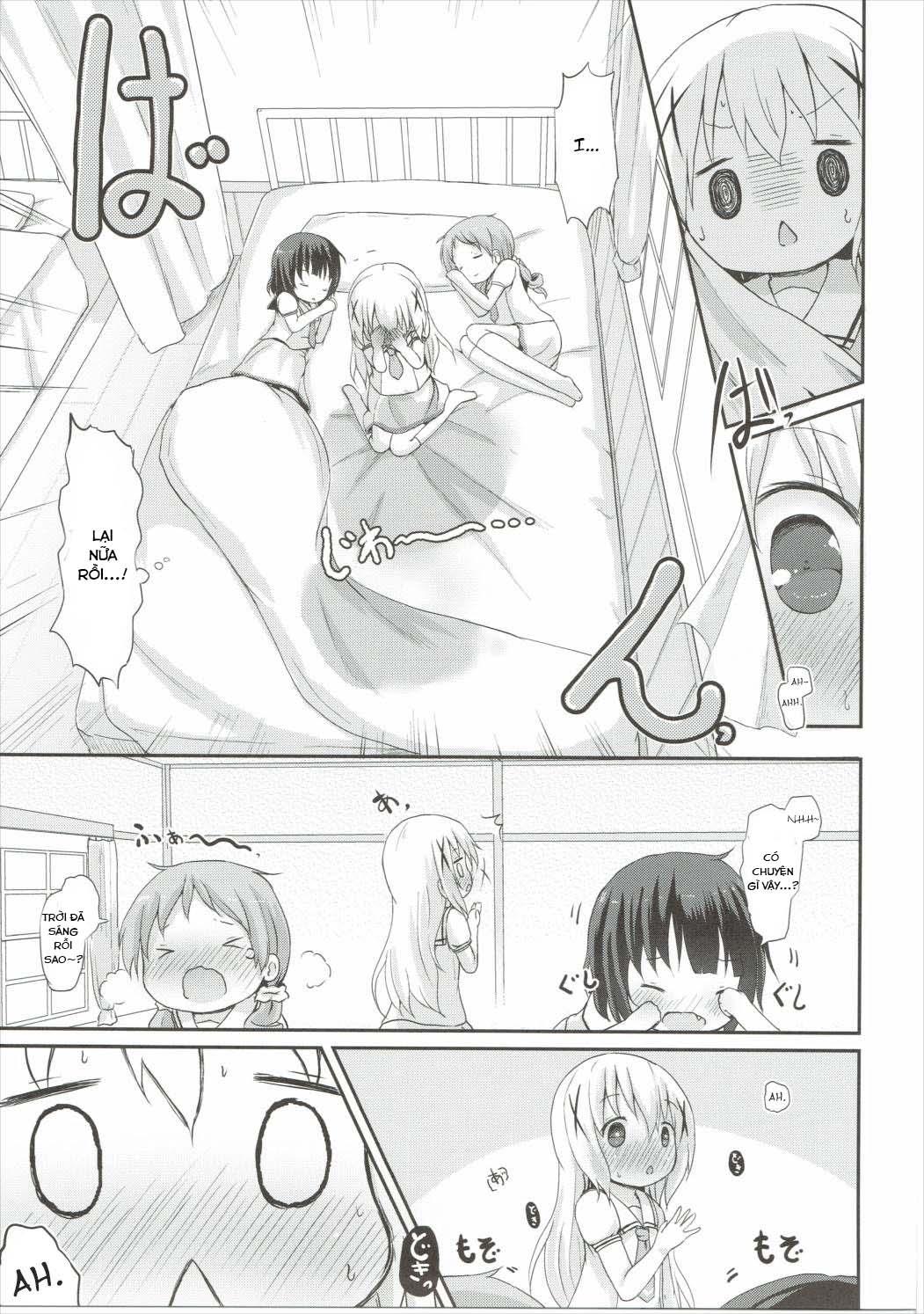 HentaiVN.net - Ảnh 16 - Moshikashite, Chino-chan Onesho Shichatta no?? 2 (Gochuumon wa Usagi desu ka?) - Oneshot