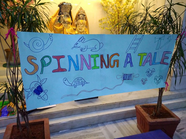 Spinning A Tale in Pre Primary