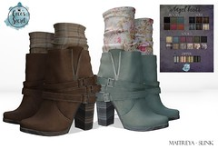 Cece's Secret Angel Boots - Earthtones