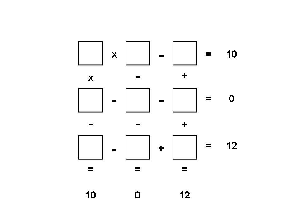 Arithmetic Squares 1st Puzzle JPEG