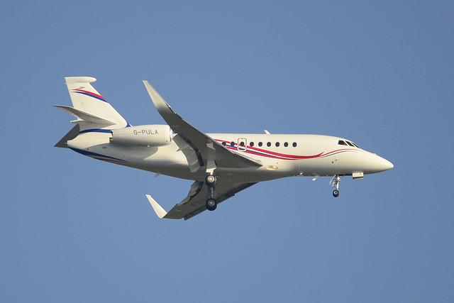 G-PULA Falcon 2000LXS