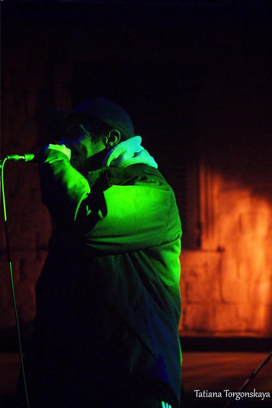 Деян Дедович на концерте в Которе