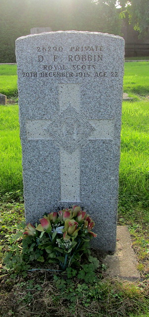 War Grave, Leslie Cemetery