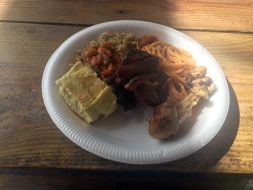 61 - Mittagessen / Lunch - Isla Catalina