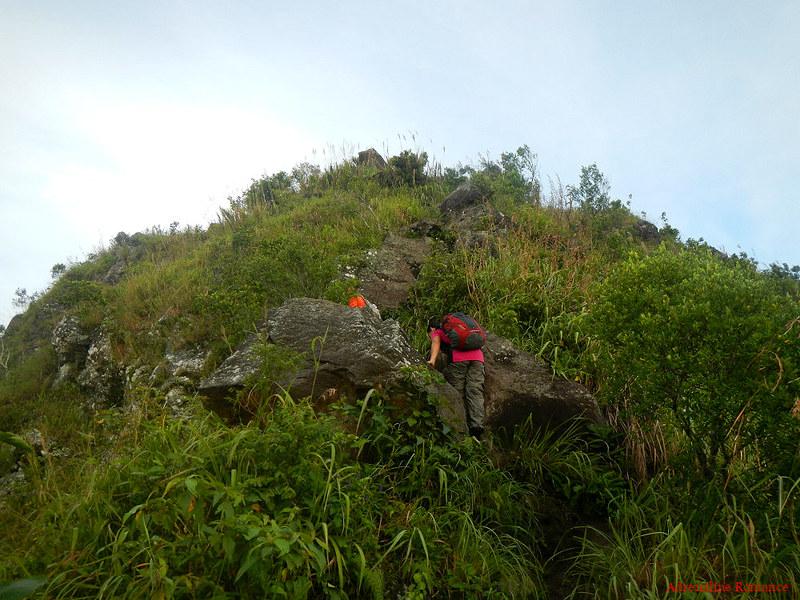 Climbing up The Rockies