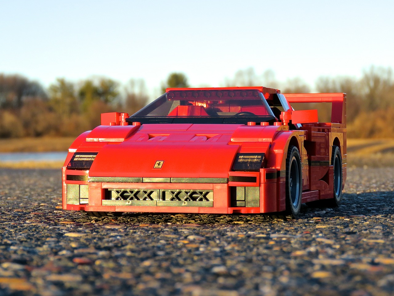 Lego Ferrari F40 7