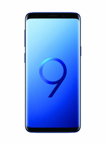 Samsung Galaxy S9 - Coral Blue - Front
