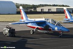 E165 3 F-TERE - E165 - Patrouille de France - French Air Force - Dassault-Dornier Alpha Jet E - RIAT 2010 Fairford - Steven Gray - IMG_8097