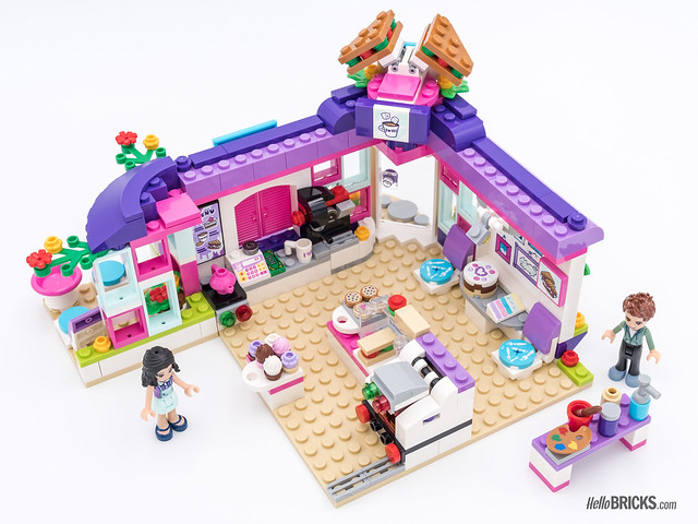 REVIEW LEGO Friends 2018 - LEGO 41336 Emma's Art Café 2