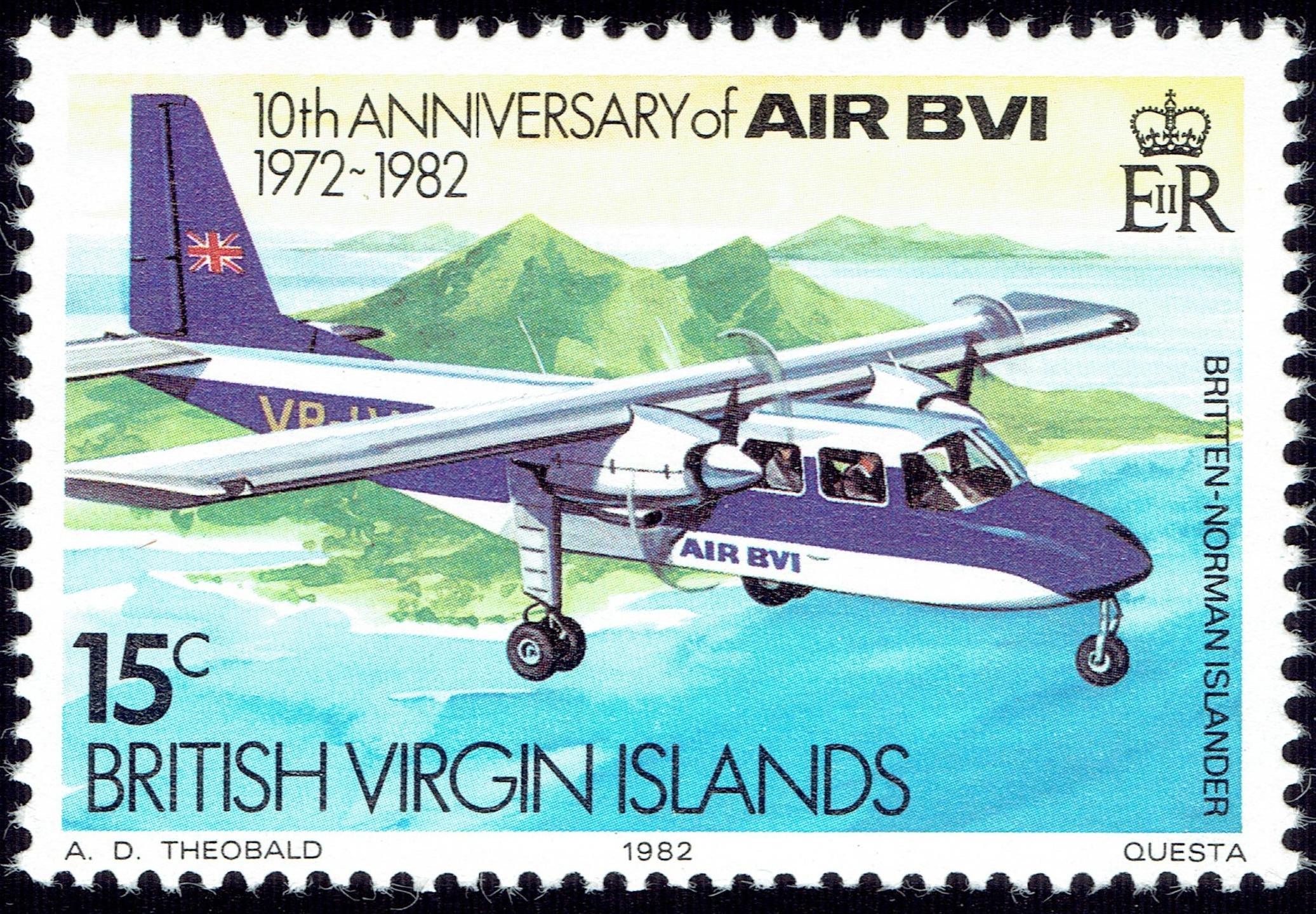 British Virgin Islands - Scott #435 (1982)