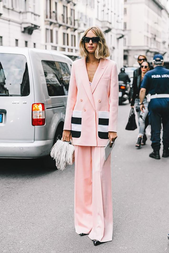 suits street style fashion outft winter 2018 inspiracion looks para ir a trabajar2