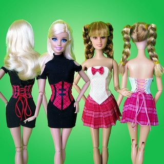 Corsets for Barbie