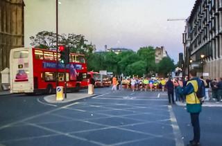 Start London to Brighton an der Westminster Bridge