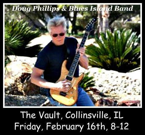 Doug Phillips & Blues Island Band 2-16-18