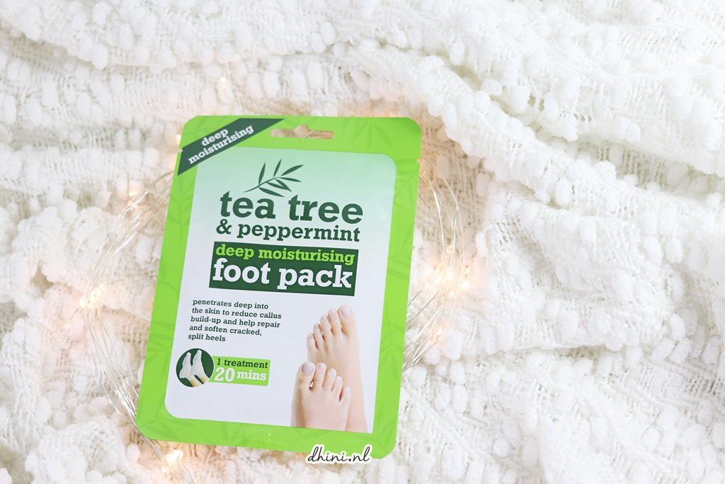 Tea tree & Peeppermint foot pack