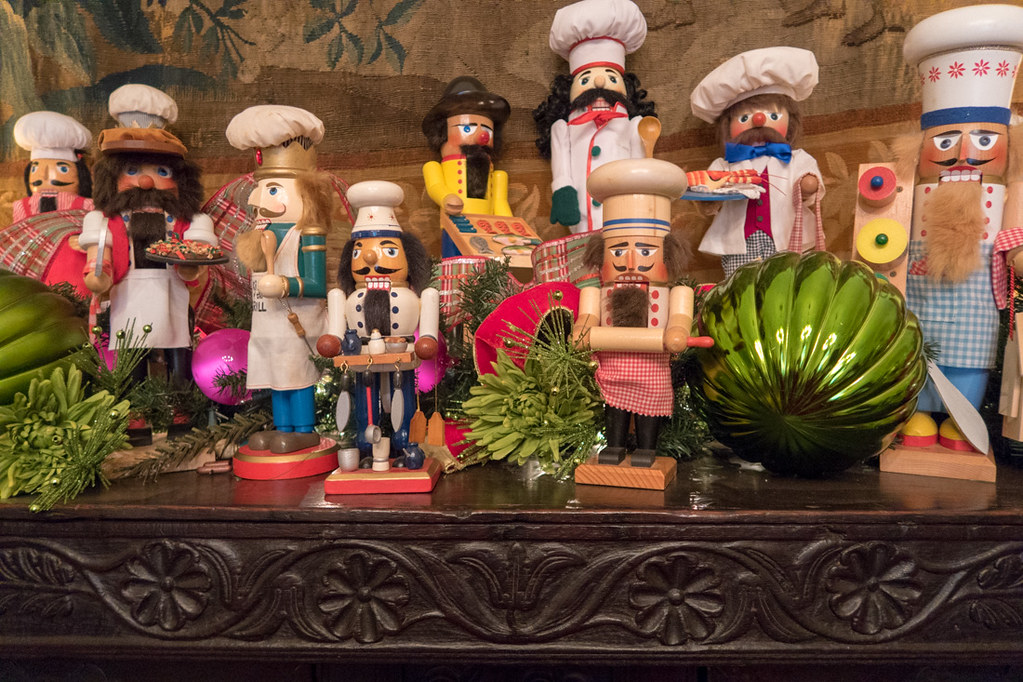 Nutcrackers Display at DeGolyer House