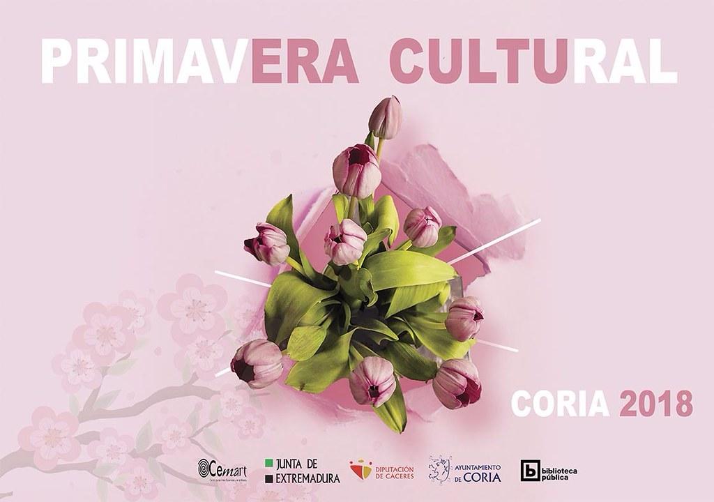 El Ayuntamiento de Coria apuesta un año más por la cultura con diferentes actividades que se enmarcan dentro de la Programación Cultural Primavera 2018