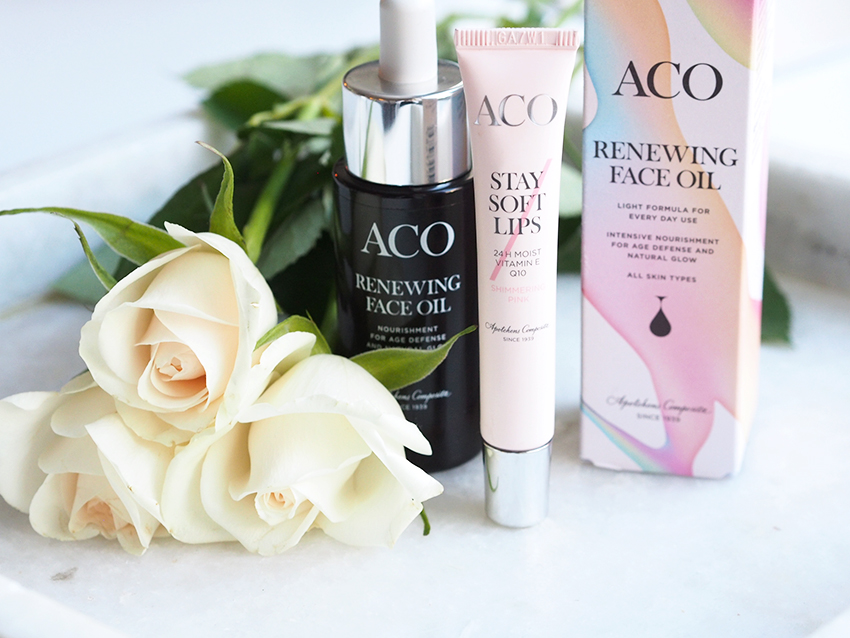 Aco Renewing Face Oil ihoöljy