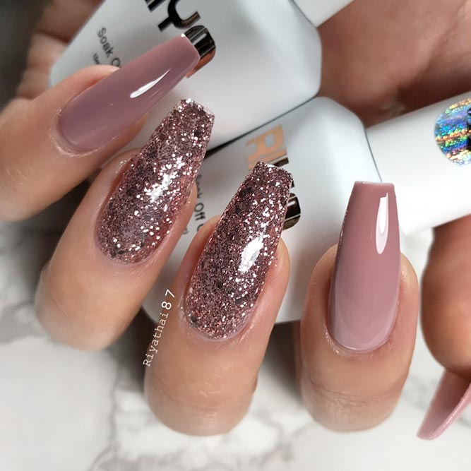 30+ Trendy Long Nails Art Designs for 2018 - Fashion 2D