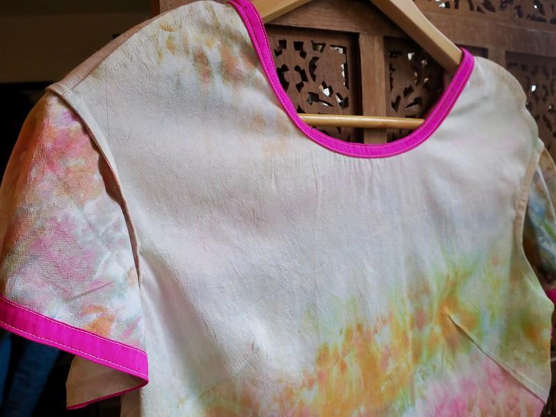 Flutter blouse insides