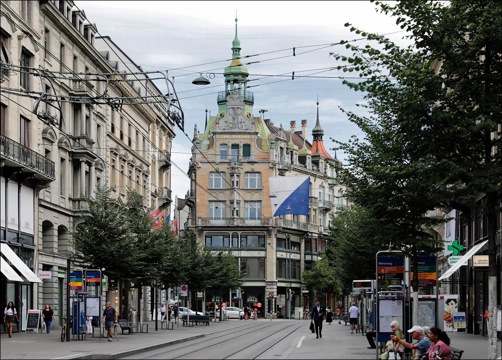 Банхофштрассе, Цюрих, Швейцария