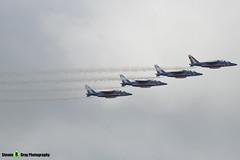 Patrouille de France - French Air Force - Dassault-Dornier Alpha Jet A - RIAT 2008 Fairford - 070711 - Steven Gray - IMG_6353