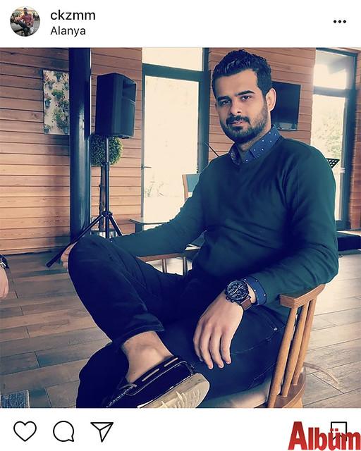 Kazım Çetin, paylaştığı bu fotoğrafla takipçilerinin beğenisini topladı.