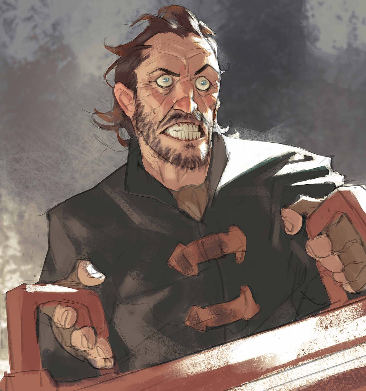 Artist Creates Unique Character Arts From Game Of Thrones – Bronn Character Art By Ramón Nuñez