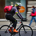 London cycling courier by Canadian Pacific