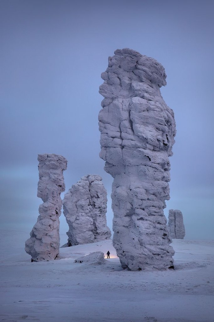 ? Manpupuner rock formations, Ural Mountains, Russia