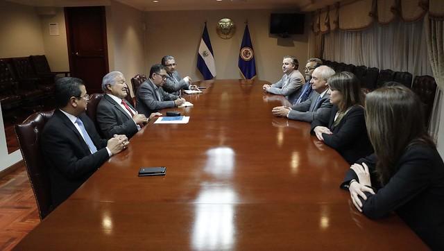 Reunión con Misión de Observación Electoral de la OEA.