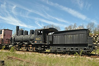 Locomotive 1665 @ Strasshof, Austria