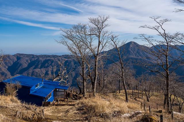 青ヶ岳山荘と蛭ヶ岳