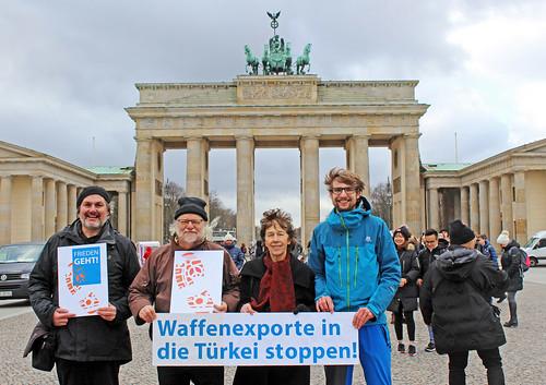 Frieden geht! Keine Waffenexporte in die Türkei