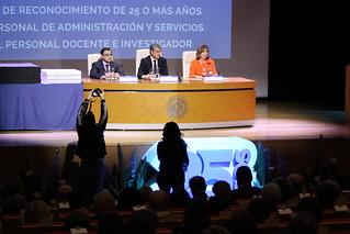 Acto Homenaje 25 Años de Servicio a PAS y PDI  (9)