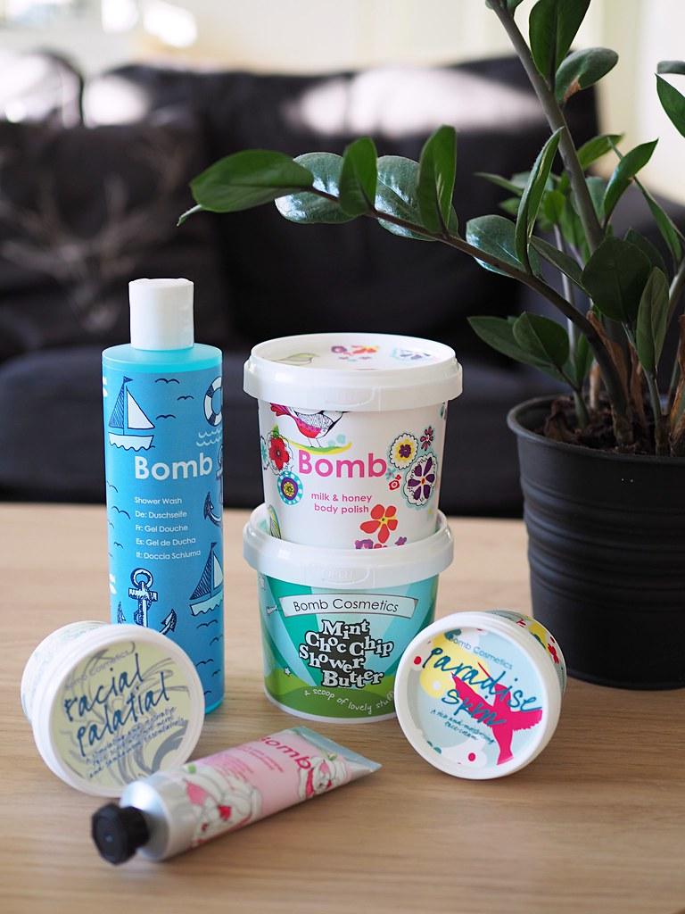 bomb cosmetics tuotteet