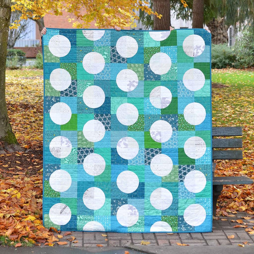 Large Polka Dot Harper Quilt