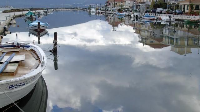 Στη λιμνοθάλασσα της Λευκάδας...