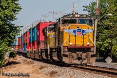 UP 4257 | EMD SD70M | NS Memphis District