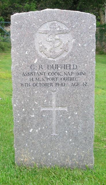 Lochalsh War Grave 2