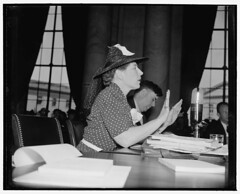 Dorothy Detzer, executive secretary of Women's Int. League: 1939